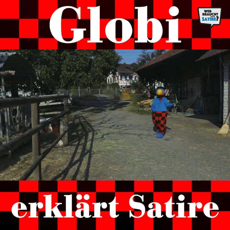Standbild für Video von Olivier Samter – Wer braucht schon Satire? Aktion zur Stärkung der Schweizer Satire. Satire frei von Zensur, Investoren und Medienkonzernen – von den Künstler*innen direkt zu dir.