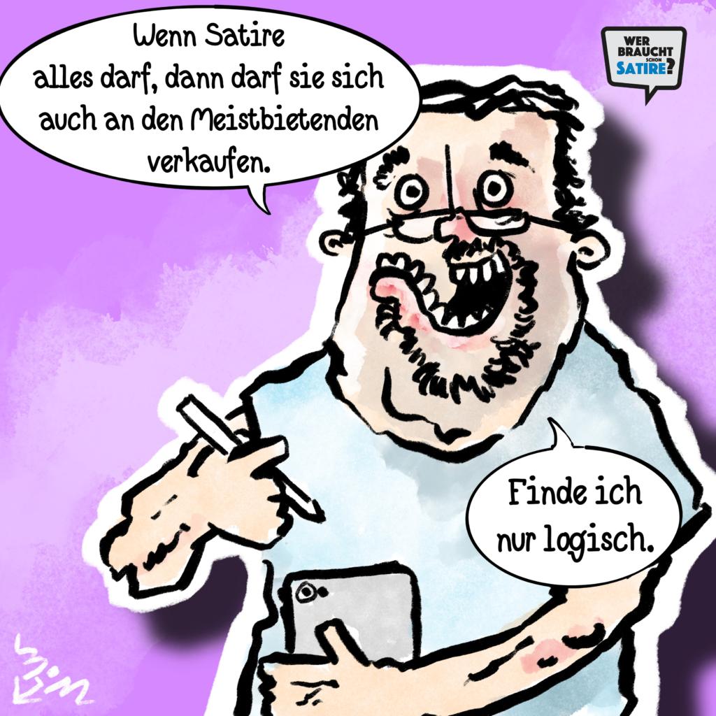 Cartoon von Michael Mittag