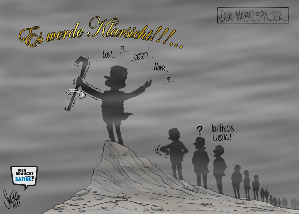 Cartoon von Swen