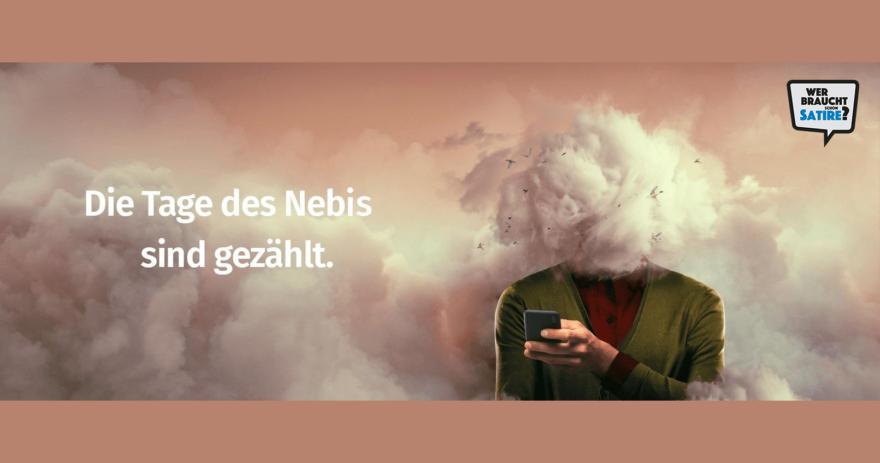 Satire von unbekanntem Werber – Wer braucht schon Satire? Aktion zur Stärkung der Schweizer Satire. Satire frei von Zensur, Investoren und Medienkonzernen – von den Künstler*innen direkt zu dir.