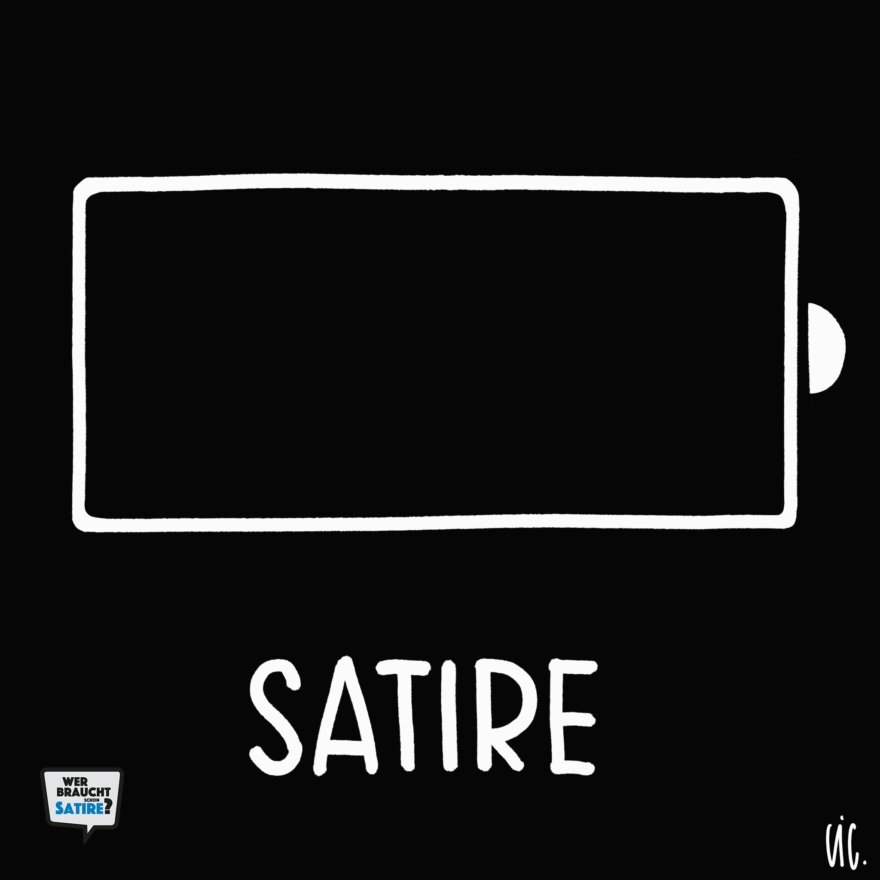 GIF von Stephan Lütolf – Wer braucht schon Satire? Aktion zur Stärkung der Schweizer Satire. Satire frei von Zensur, Investoren und Medienkonzernen – von den Künstler*innen direkt zu dir.