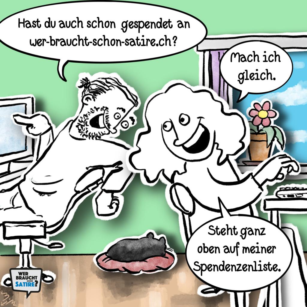 Michael Mittag – Wer braucht schon Satire? Aktion zur Stärkung der Schweizer Satire. Satire frei von Zensur, Investoren und Medienkonzernen – von den Künstler*innen direkt zu dir.