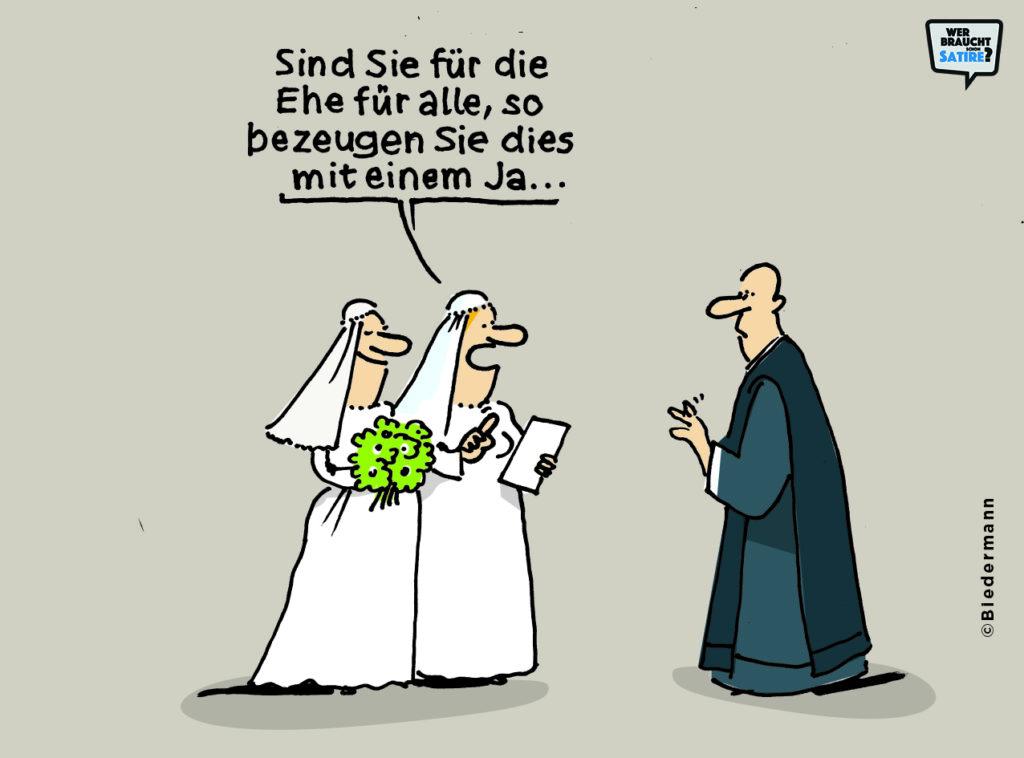 Cartoon von Christoph Biedermann – Wer braucht schon Satire? Aktion zur Stärkung der Schweizer Satire. Satire frei von Zensur, Investoren und Medienkonzernen – von den Künstler*innen direkt zu dir.