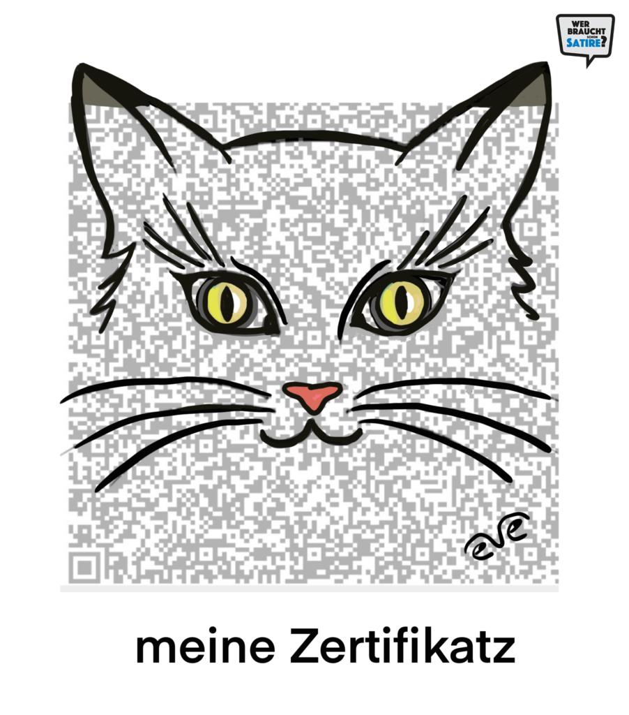 Cartoon von Eve – Wer braucht schon Satire? Aktion zur Stärkung der Schweizer Satire. Satire frei von Zensur, Investoren und Medienkonzernen – von den Künstler*innen direkt zu dir.